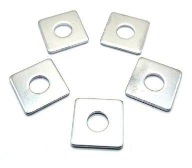 углеродистая сталь цинковая квадратная шайба