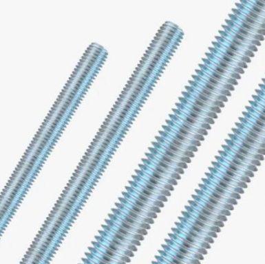 A307 стержень с резьбой цинковый din975