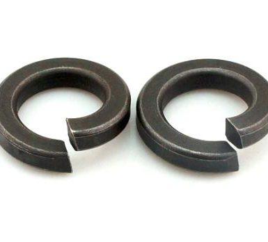 Плоская пружинная шайба из черного оксида DIN127 DIN128